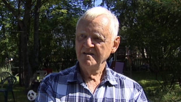 Robert Davies called police after his elderly neighbour ran to him for help after an intruder broke into her home around 9:30 p.m. Monday night.