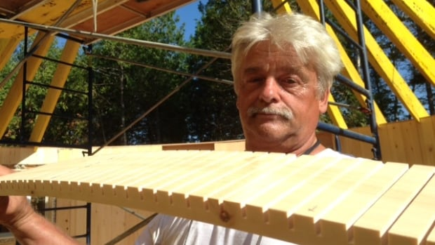 Yurt builder David Byers says his vision is to have round be the new square.