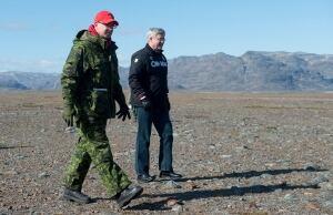 Prime Minister Stephen Harper in the North