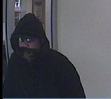 Carling bank robbery suspect