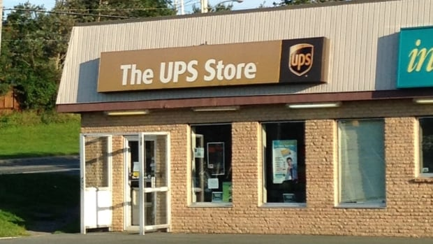 Mae Kierans had taken her deceased father's most prized paperwork to this UPS store on Pearson Street in St. John's to make digital copies, and was taken aback when the store was shut down - with her father's paperwork still inside.