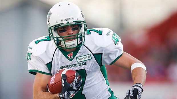 Weston Dressler has spent his entire six-year CFL career with Saskatchewan, surpassing 1,000 receiving yards in a season five times.