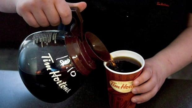 A cup of Tim Hortons coffee will go up by 10 cents on average depending on the region and the cost for a breakfast sandwiches will also rise 10 cents in all