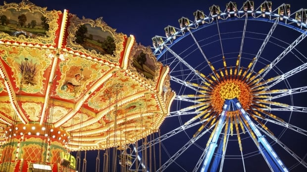 Ride the Ferris wheel at the Paris Fall Fair this weekend.