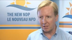 NDP Leader Dominic Cardy