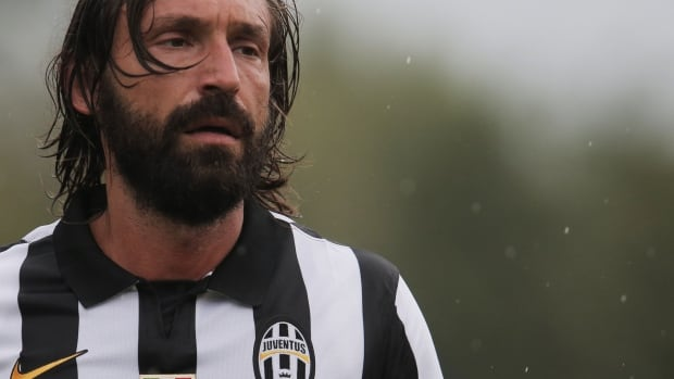 Pirlo will miss the first month of Serie A action due to a pulled tendon.