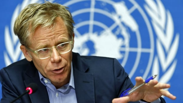 World Health Organization Assistant-Director General Bruce Aylward was reassigned three weeks ago, to be the lead on tackling Ebola. He is also coordinating the UN's technical response to the outbreak.