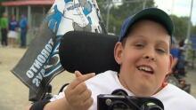 Bryce desrochers Miracle League Ottawa Accessible Baseball Field