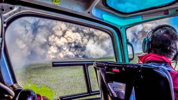Fire crews make their way to the Chelaslie River fire in B.C.'s northwest, the largest fire burning in B.C. this season at 129,000 hectares