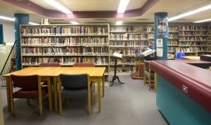 Kingston Penitentiary library