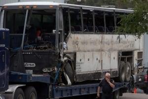 Tour Bus Crash 20140829
