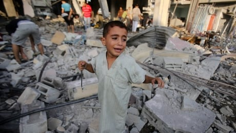 Gaza conflict reconstruction