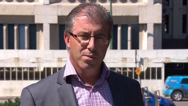 Gord Steeves announced his plan on Wednesday to add two unmanned aerial drones to the Winnipeg Police Service's Flight Operations Unit if he's elected mayor in the Oct. 22 civic election.