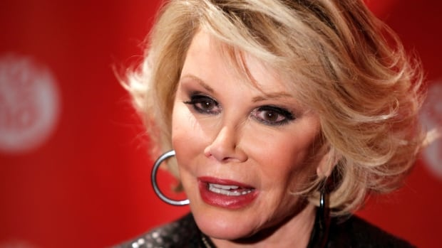 Comedian Joan Rivers, pictured in 2010, is in serious condition, according to her daughter, Melissa Rivers.