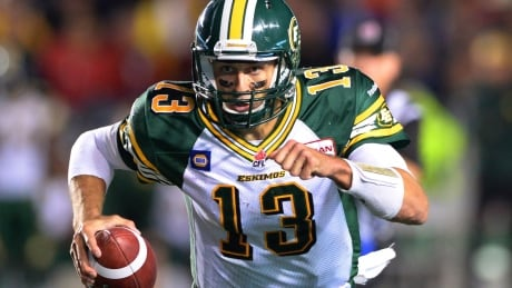 Mike Reilly a question for Labour Day game in Calgary