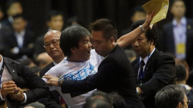 Pro-democracy activists vowed on Sunday to bring Hong Kong's financial hub to a standstill after China's parliament rejected their demands for the right to freely choose the former British colony's next leader in 2017.