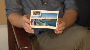 Ian Foster Deportation Postcard