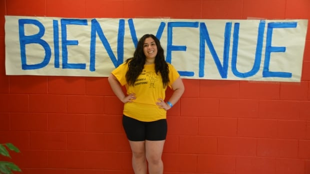 Peer mentors like Emillyn Shojaei at Laurentian University are there to help support students starting their first year of university.