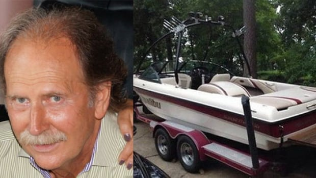 Brian Lakevold was last seen boating on Lake Okanagan on Tuesday. His boat was found in the middle of the lake, but Lakevold is still missing.