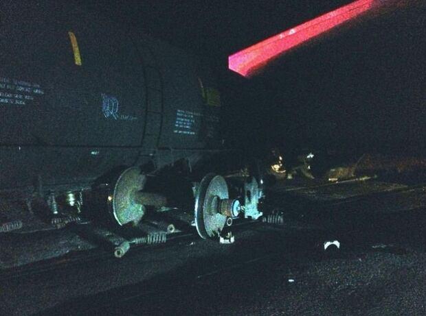 Moose Jaw-area train-semi crash