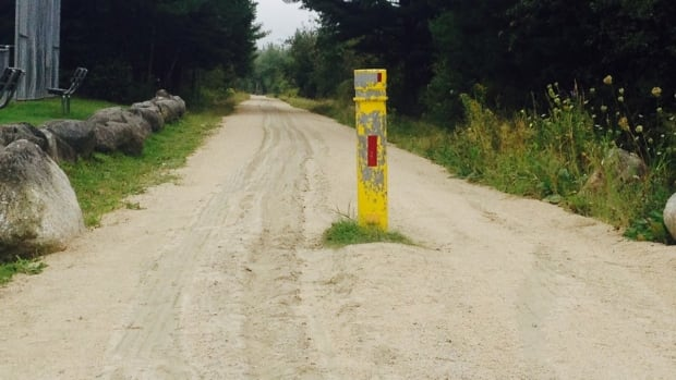This is the section of the Trans-Canada Trail in Chester Basin where a 14-year-old boy was killed Monday night.