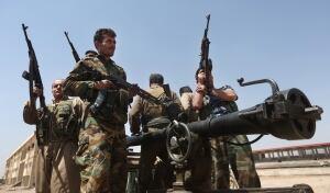 Iraq Kurdish fighters
