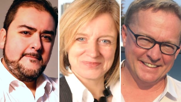 All three leadership candidates for Alberta's New Democratic Party are from Edmonton.