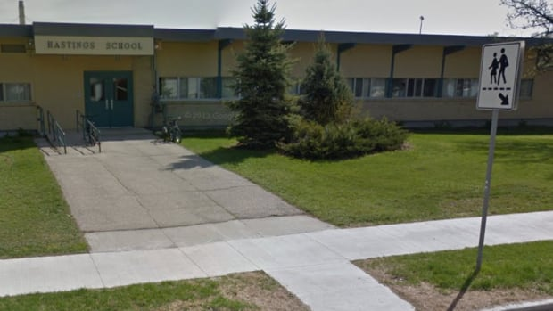 Some parents at Hastings School are upset the Louis Riel School Division will have their children switch buildings this fall with students at École Marie-Anne-Gaboury, the French immersion school next door.
