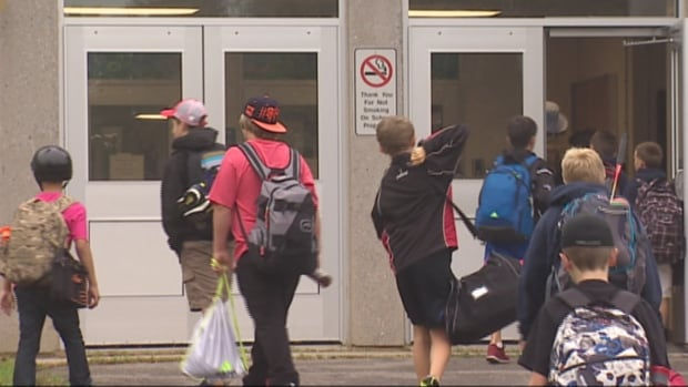 Students returned to schools across New Brunswick on Tuesday. Political leaders also used the return to school to trot out their education platforms.