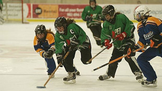Ringette players on P.E.I. will soon be struggling to find ice time, says Ringette P.E.I. president Mike James.