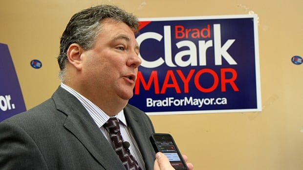 Brad Clark, a mayoral candidate in the Oct. 27 election, says even if the province fully funded the capital costs of light rail transit, Hamilton taxpayers couldn't afford it.