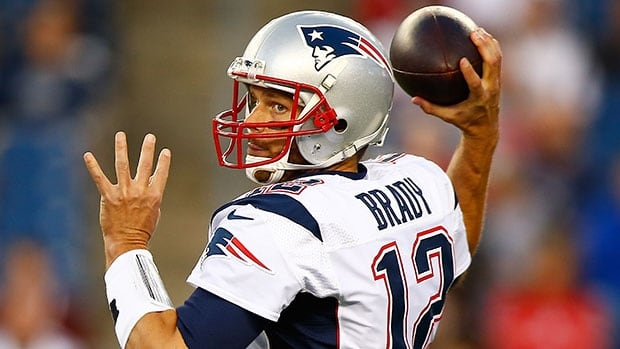 Tom Brady looks to rebound from an off year (for him) and lead the perennial-contender Patriots back to the Super Bowl.