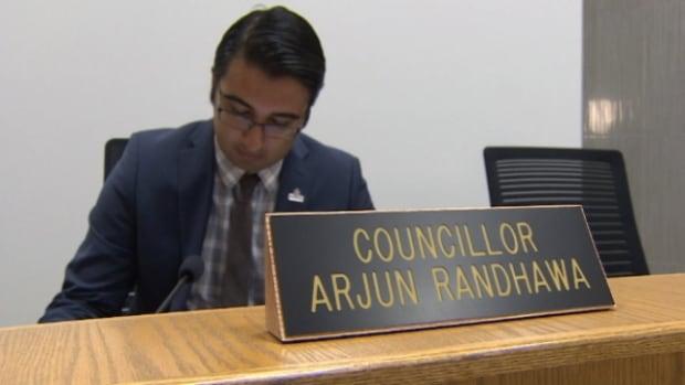 Arjun Randhawa was elected to Fort Saskatchewan city council last October.