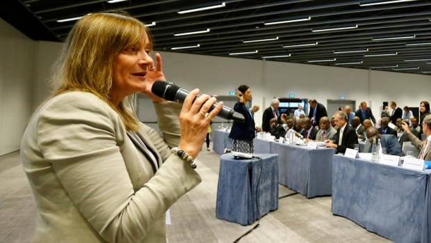Marie Paule Kieny, assistant Director-General of the World Health Organization, said the international meeting is about making a plan of how experts could accelerate compassionate use of the most promising Ebola vaccines.