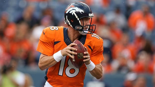 Quarterback Peyton Manning and the Denver Broncos will try to erase last season's Super Bowl drubbing at the hands of Seattle.