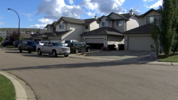 The break and enter happened on Labour Day in this neighbourhood in Spruce Grove.