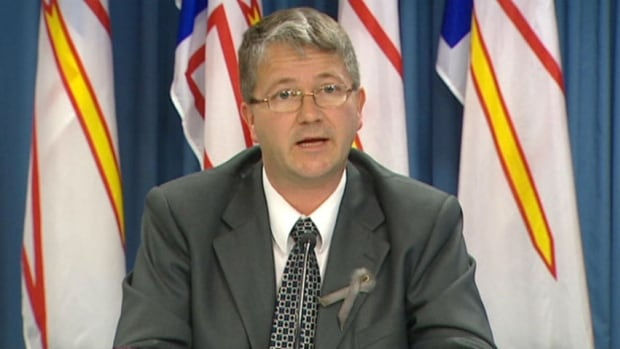 Education Minister Darin King, pictured in a 2012 file photo, is dismissing criticism from a retired professor over the province's math curriculum.