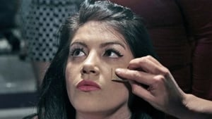 Maria <b>Eugenia Donoso</b>, who had suffered from anorexia, has make-up put on at <b>...</b> - eating-disorder