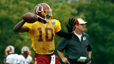 Redskins RG3 Football