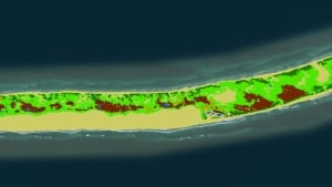 Sable Island Topography map