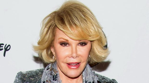 TV personality Joan Rivers was hospitalized Aug. 28 after going into cardiac arrest at a doctor's office. She died on Sept. 4 at the age of 81.