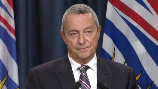 B.C. Education Minister Peter Fassbender wouldn't actually say 'no' to the BCTF's proposal to go to arbitration to end the months-long teachers' dispute, but made it sound unlikely.