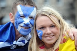 Scotland Independence rally