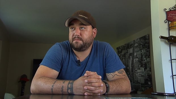 After returning from Afghanistan, Steven Ruttan was diasgnosed with PTSD, severe depression and dissociative disorder. The Quebec resident feels Veterans Affairs Canada isn't giving him the financial compensation he deserves.
