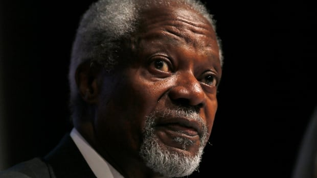 Kofi Annan, former UN secretary general, says it's time for governments to change course and avoid drug policies that lead to overcrowded jails. Annan is on the Global Commission on Drug Policy, which on Tuesday released a report calling for decriminalization of drugs including cocaine and heroin.