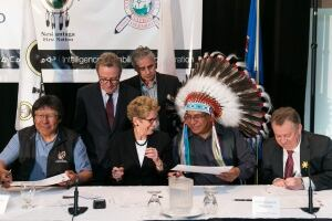 Ring of Fire Framework Agreement signing