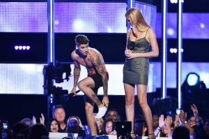 Justin Bieber and Laura Stone
