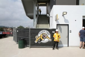Hamilton Tiger-Cats Tim Hortons Field construction