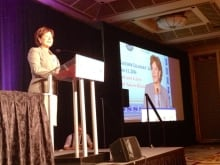 B.C. Premier Christy Clark address First Nations leaders