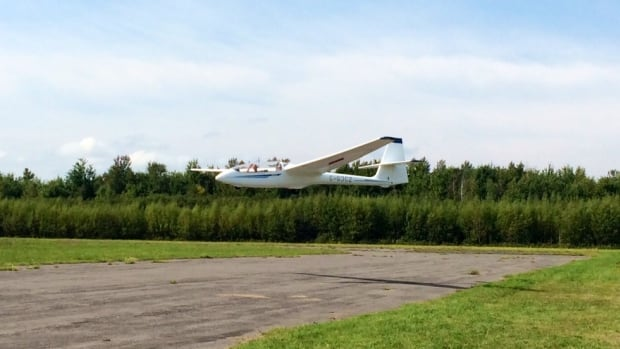 Many of the people participating in the gliding at Pendleton Airport were from the Ottawa Hospital Rehab centre.